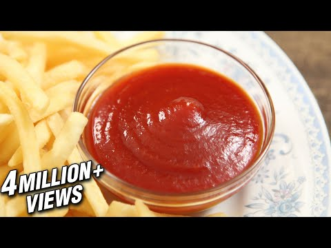 How To Make Tomato Ketchup | Homemade Tomato Ketchup | The Bombay Chef - Varun Inamdar