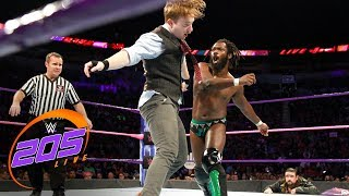 Rich Swann vs. Gentleman Jack Gallagher: WWE 205 Live, Oct. 17, 2017
