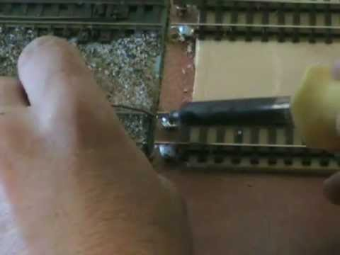 How To Align Model Train Track On A Modular Railroad Layout