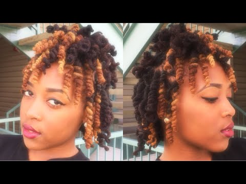 Loc Tutorials For Women | Pipe Cleaner Curls On Locs // Patty Phattty