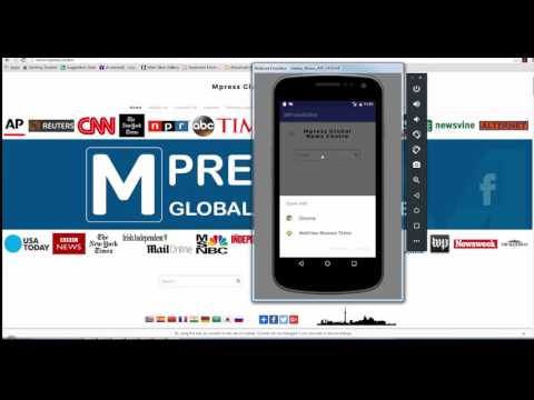 Lesson 13 - How to convert webpage to Android app in Android Studio