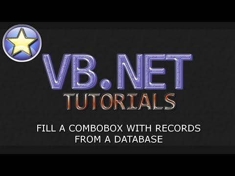 VB.NET Database Tutorial - Fill ComboBox From SQL Database & Dynamic Query (Visual Basic .NET)