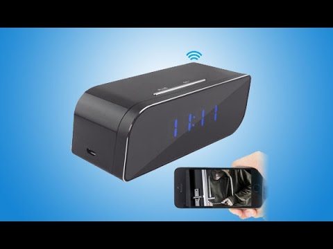 WISEUP Network Configuration Tutorial of Wifi Spy Camera Clock for Android (Model Number: WIFI07)