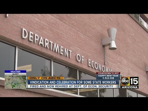 Dozens of fired states workers get rehired
