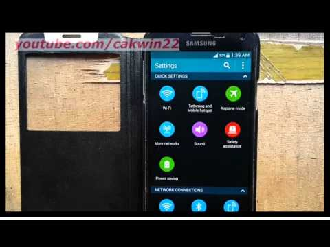 Samsung Galaxy S5 : How to turn on/off notification reminder (Android Phone)