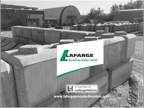 Concrete Blocks by Lafarge Precast Edmonton For Retaining Walls