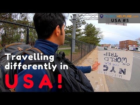 Is Hitchhiking still possible in USA - 2018! | Story of Indian backpacker