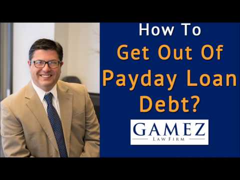 How To Get Out Of Payday Loan Debt  | Payday Loan Debt Settlement Help San Diego