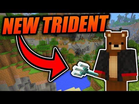 Minecraft 1.13 TRIDENT GUIDE!! - All NEW ENCHANTMENTS, Secrets, Tips & Tricks! - Minecraft Java 1.13