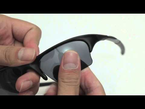 Oakley Half Jacket XLJ Sunglasses Lenses Replacement(Installation/Removal)