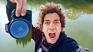 #x202b;اصحابى رمولى الكاميرا بتاعتى فى المياه مش هتصدقو حصل فيها ايه !#x202c;lrm;