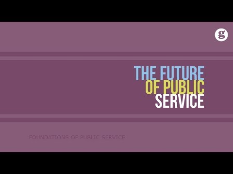 The Future of Public Service