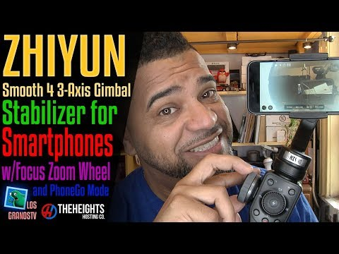 Zhiyun Smooth 4 3-Axis Gimbal Stabilizer for Smartphones 📷 : LGTV Review