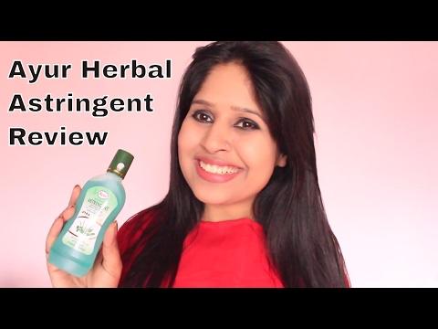 Ayur Herbal Aloevera Astringent   HOT OR NOT   Best Astringents in India