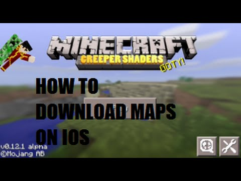 How to download MCPE maps on IOS 8.4 or below (jailbreak)