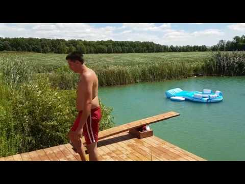 DIY diving board FAIL.