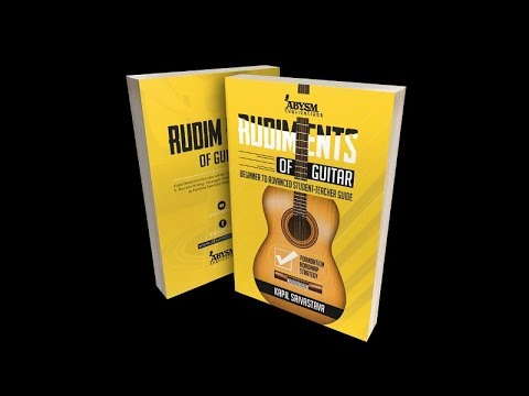 Top Guitar Book for Beginner to Advanced | Rudiments of Guitar by Kapil Srivastava | Lesson, Learn