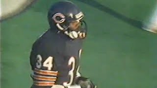 Walter Payton S Final Career Touchdown
