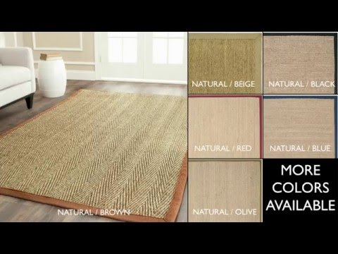 Natural Fiber Rugs by Safavieh - NF115A 8