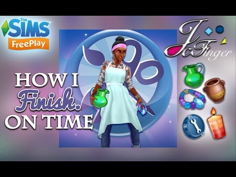 The Sims FreePlay  ⏰| HOW I FINISH ON TIME |⏰ 🎉PARTY TIME LIVE EVENT 🎉
