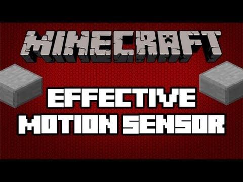 Minecraft 1.3.2   Effective Motion Sensor (TUTORIAL)