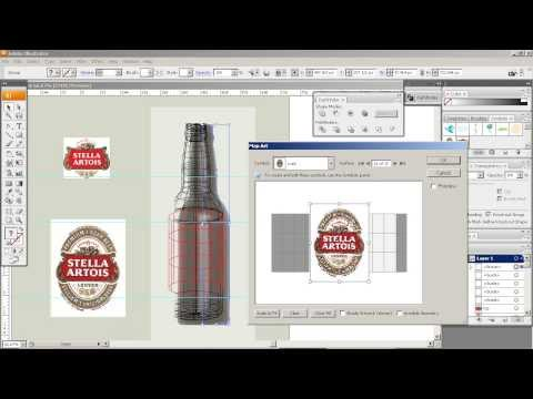 Creating a Realistic 3D Beer Bottle in Illustrator CS3