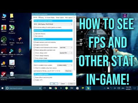 How to Monitor FPS, CPU, GPU Usage and Temperature | MSI Afterburner [Tutorial] (2017)