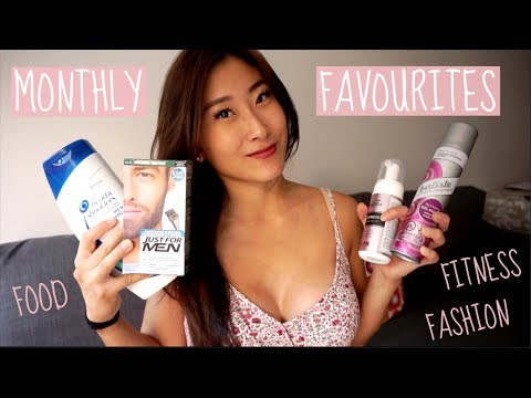 MONTHLY FAVOURITES | Fitness, Food & Fashion ❤️