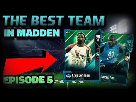 THE BEST TEAM IN MADDEN | EPISODE 5 | MADDEN 18 ULTIMATE TEAM