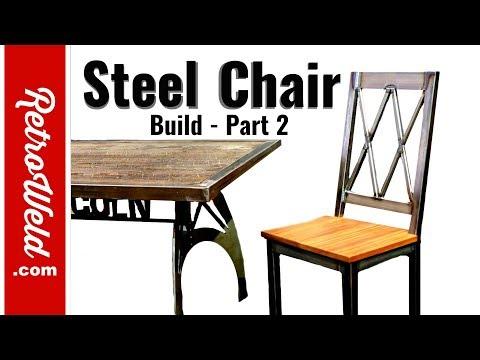 🔴 Steel Chair Build - Part 2 / FABTECH