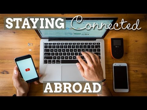 How to Stay Connected While Travelling