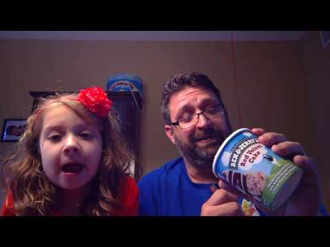 Snack Attack Reviews Ben & Jerry's Red Velvet Cake Ice Cream