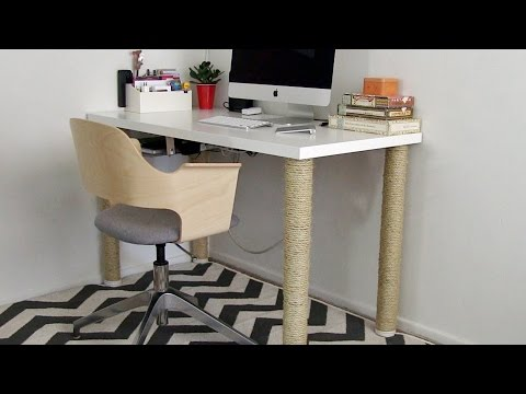 Home Office Ideas - IKEA desk hack and more - part 1