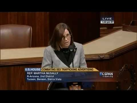 McSally Speaks on Ending Human Trafficking