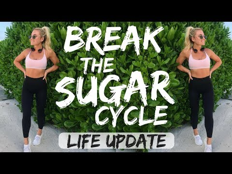 Break your SUGAR addiction!! Life update + Booty workout
