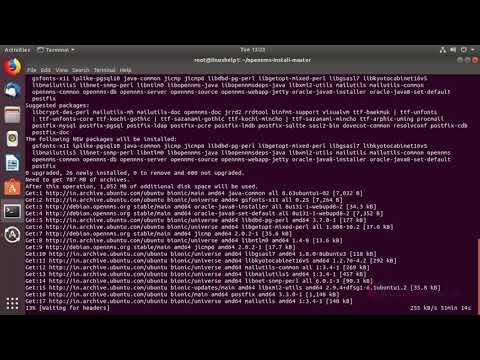 How to install OpenNMS on Ubuntu 18.04