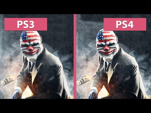 PayDay 2 – PS3 vs. PS4 Crimewave Edition Graphics Comparison [60fps][FullHD]