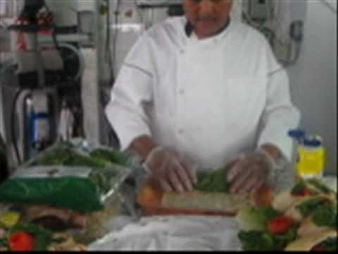 How to make a Turkey Wrap Sandwich