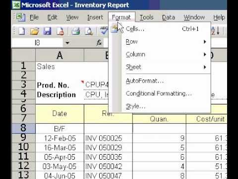 Microsoft Office Excel 2003 Align data at the top center, or bottom of a cell