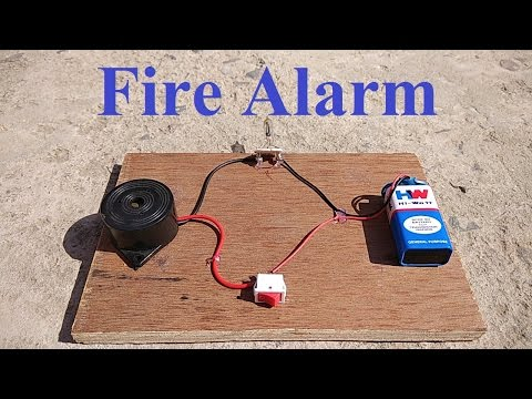 How to make Fire Detector Alarm at home || Very Simple ||