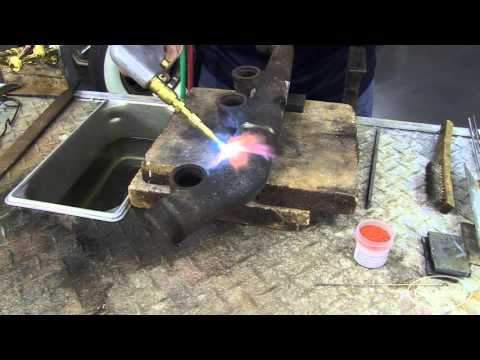 Gas Welding:  How To Gas Weld Cast Iron with a Cobra Torch from Eastwood