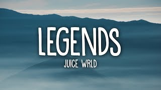 Juice WRLD - Legends (Lyrics) Tribute 💔