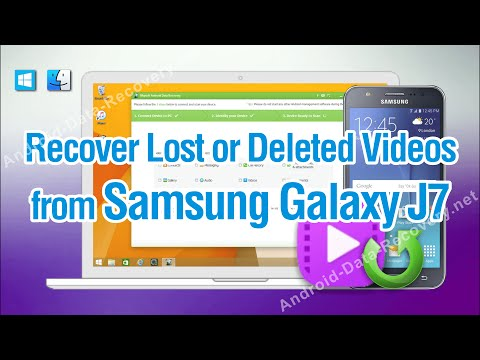 How to Recover Lost or Deleted Videos from Samsung Galaxy J7