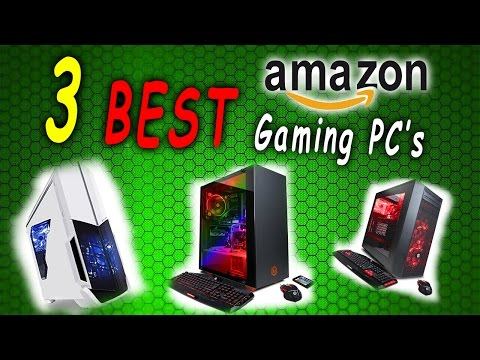 3 Best Pre-built Gaming PC's for YOUR game of choice! 30+ Game List