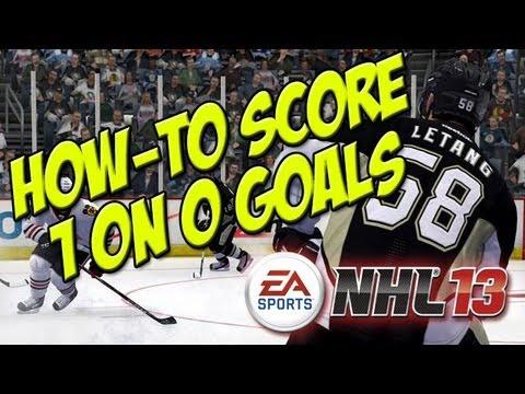 NHL 13 - Goal Scoring Strategies - Part 1