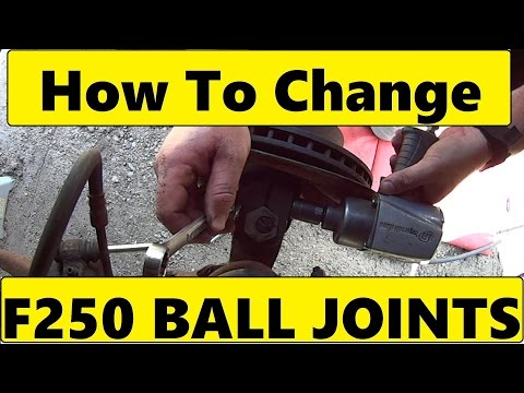Change Ball Joints on Twin I Beam Ford truck F150 250 350