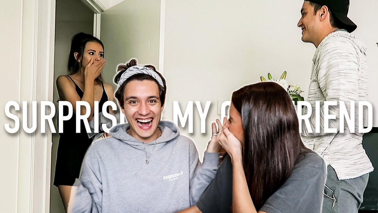 Reacting To Our Long Distance Surprise Video! (4 Years Later!)