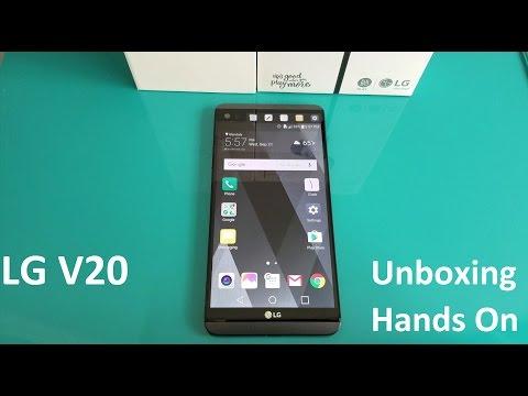 LG V20 Unboxing | Hands on First Impression