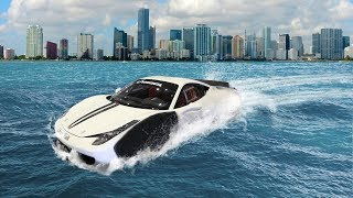 Most AMAZING Amphibious Vehicles That Currently Exist!
