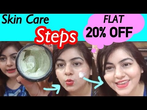 Garmi me Skin glow kaise? Skin Care Routine ft. Good Vibes at Flat 20% Discount   JSuper Kaur